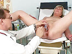 Mature, Toy, Drunk, Speculum, Gyno, Exam, Pussy, Mom