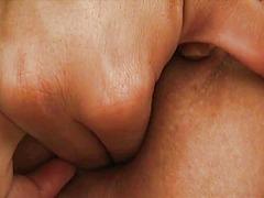 Trljanje, Klitoris, Sise, Pičić, Orgazam, Obrijana, Prst, Masturbacija