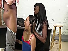 White, Cock, Bbc, Girls, Black, Threesome, Big, Interracial