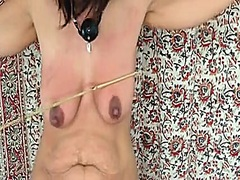 Babe, Tits, Beating, Brutal